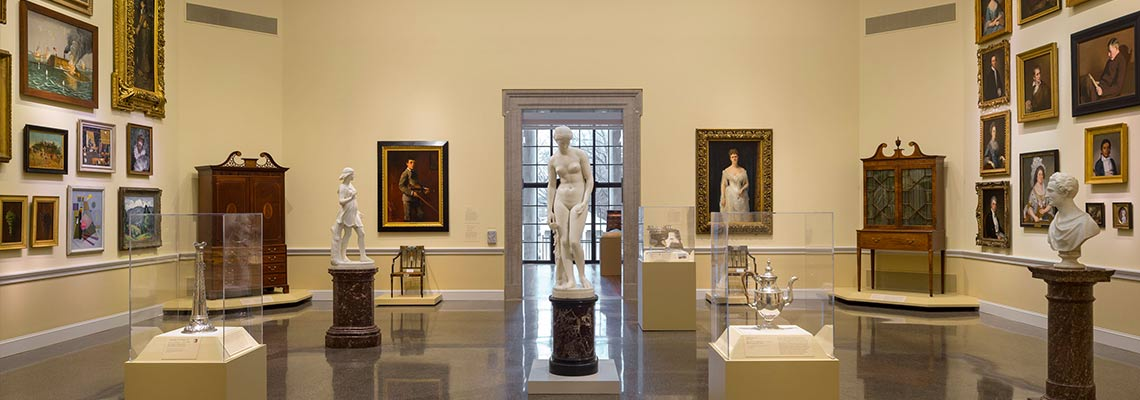 Art of Maryland on view in the Dorothy McIlvain Scott American Wing.